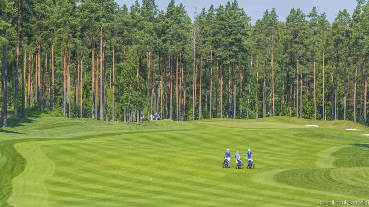 Linna Golf on suunnittelultaan Suomen ykkönen.