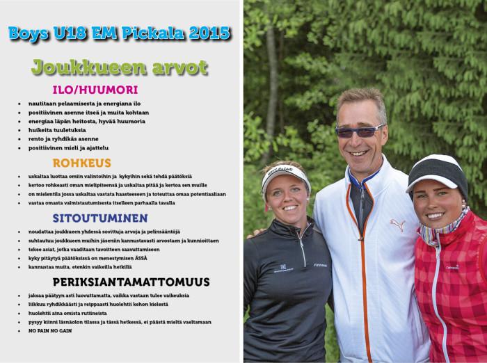 Pertti Ratilainen työskentelee myös Noora Tammisen (vas.) ja Annika Nykäsen kanssa.
