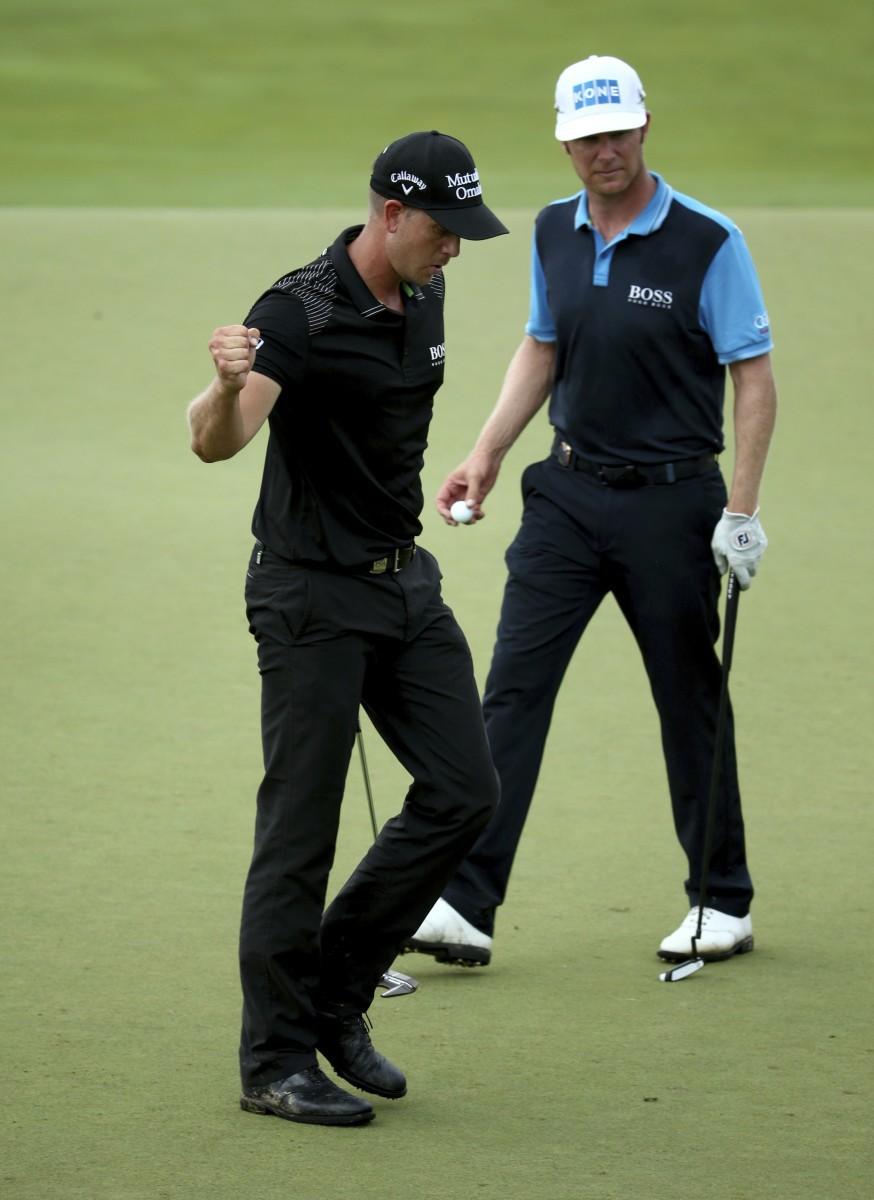 Ilonen ja Stenson pelasivat vuosi sitten PGA Championshipin viimeisen kierroksen yhdessä.
