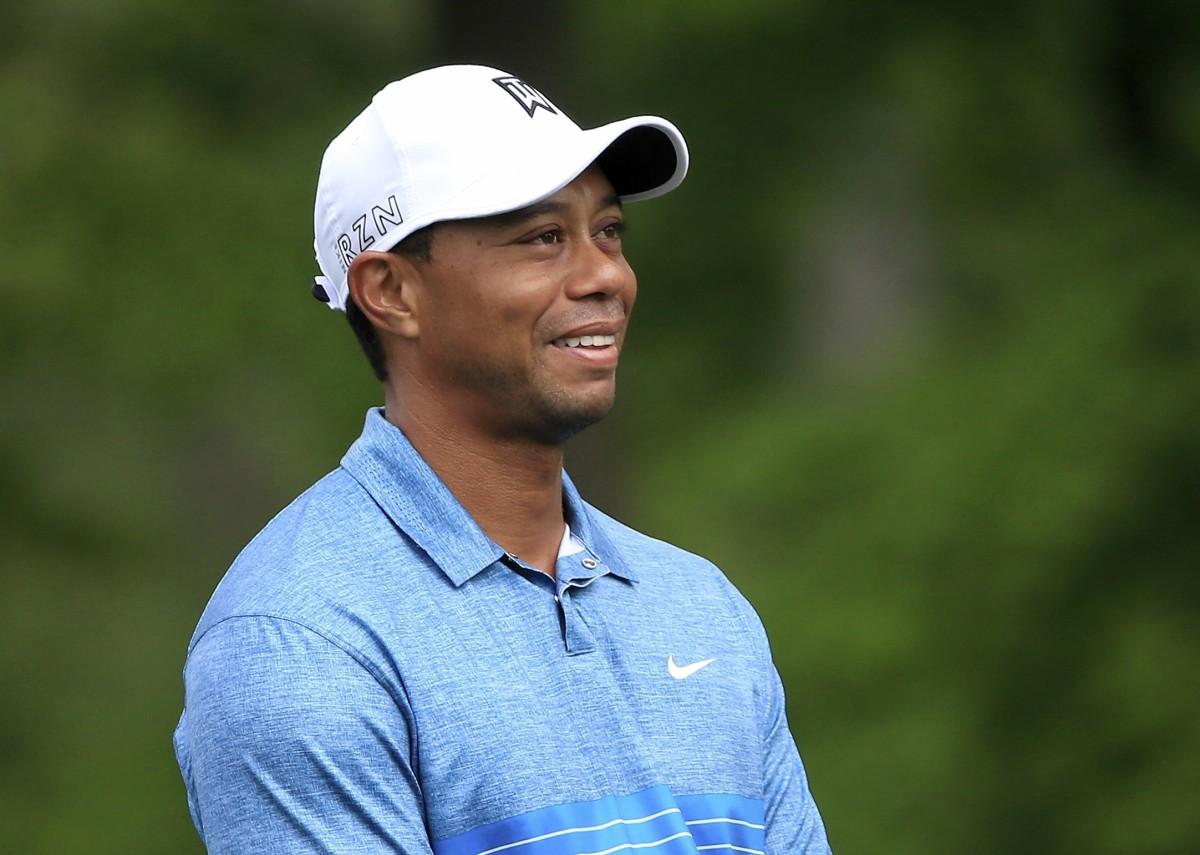 Tiger Woodsilla oli hymy herkässä The Memorial Tournamentissa.