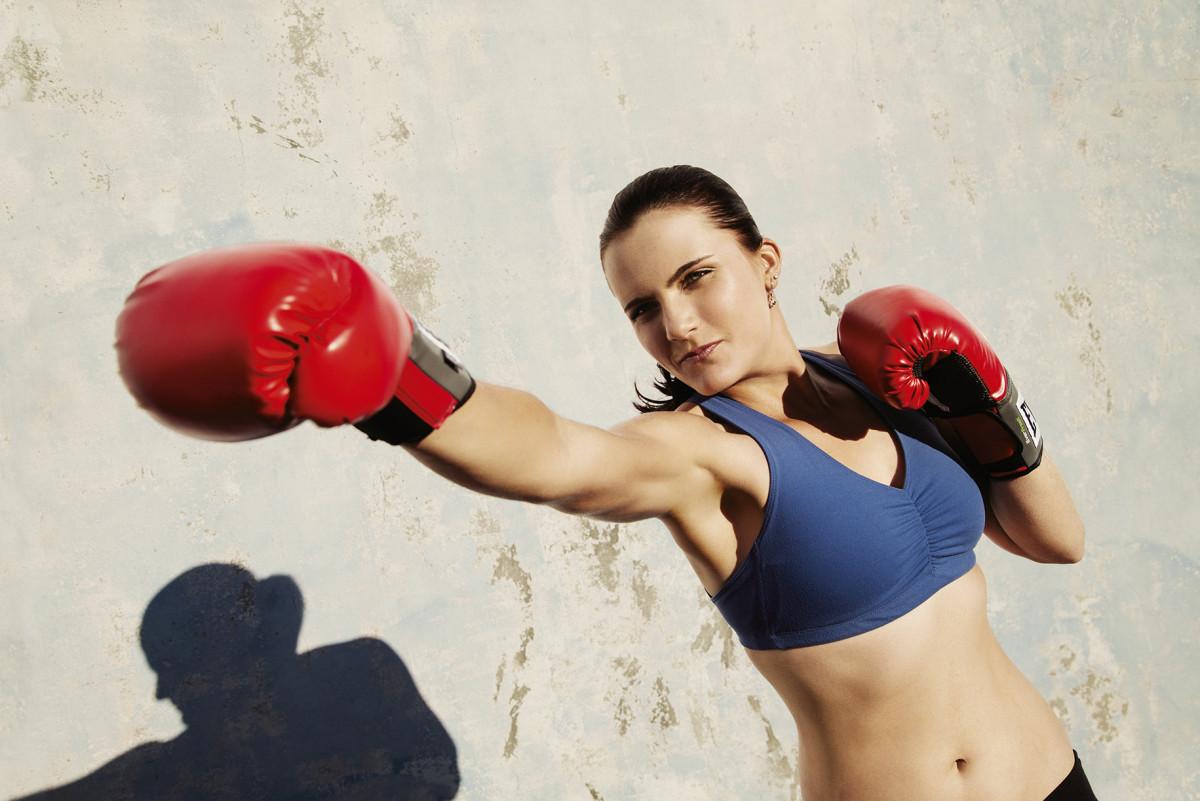 Nyrkkeilyä, pyöräilyä tai painonnostoa – jos en tee mitään niistä, päivä tuntuu oudolta, sanoo Lexi Thompson.