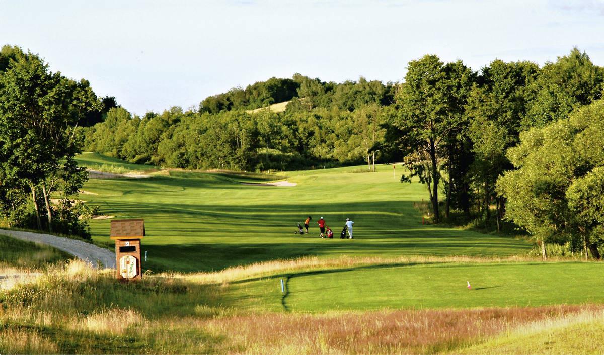 Capitals Golf on yksi kolmesta täysimittaisesta kentästä Vilnan lähellä.