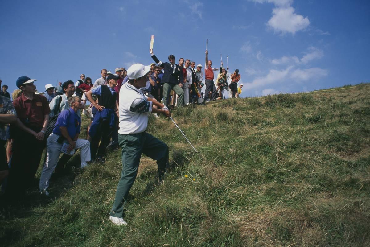 Jesper Parnevik oli ensimmäisen kerran kiinni The Openin voitossa 1994 Turnberryssä.