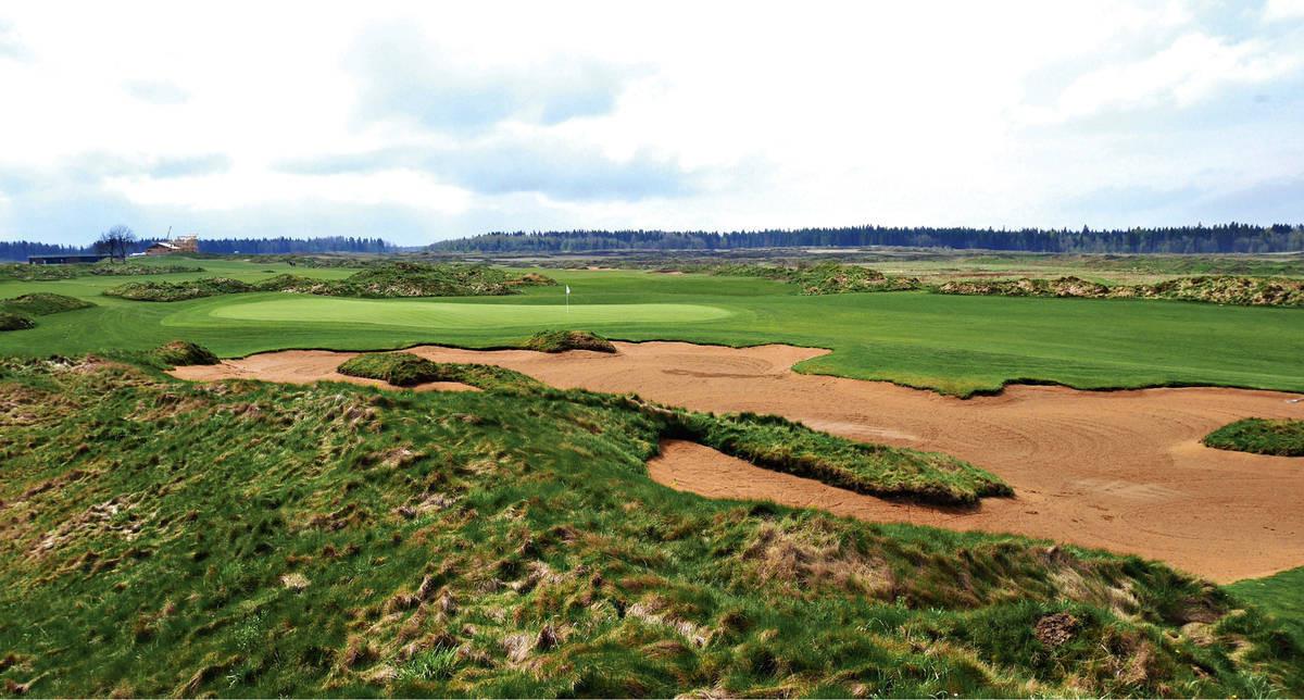 Gorki Golfin ensimmäiset yhdeksän reikää avataan heinäkuussa.