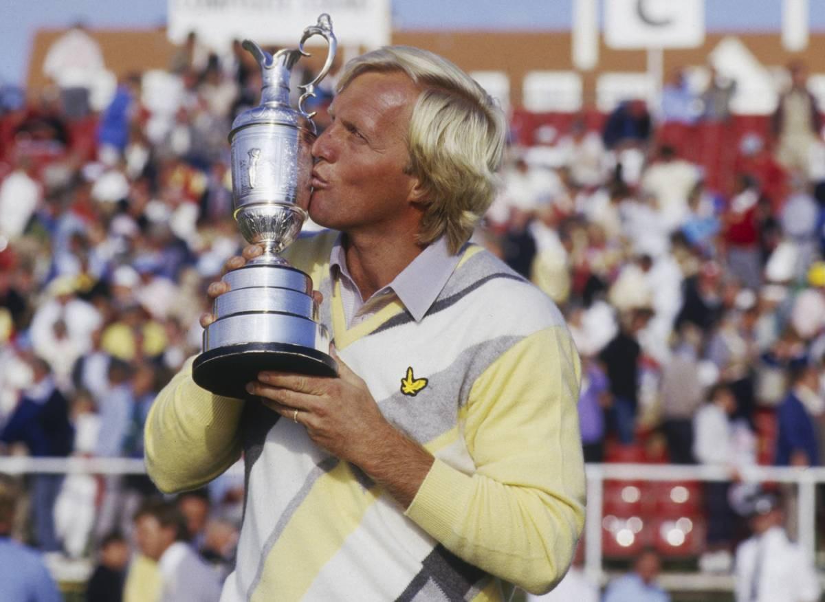 Greg Normania nöyryytettiin urallaan USA:n majoreissa, mutta hyvityksen hän sai The Openissa, jonka voitti kaksi kertaa. Kuva vuodelta 1986.