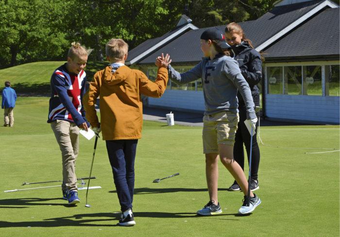 Aura Golfin  vahva juniorityö kantaa hedelmää.