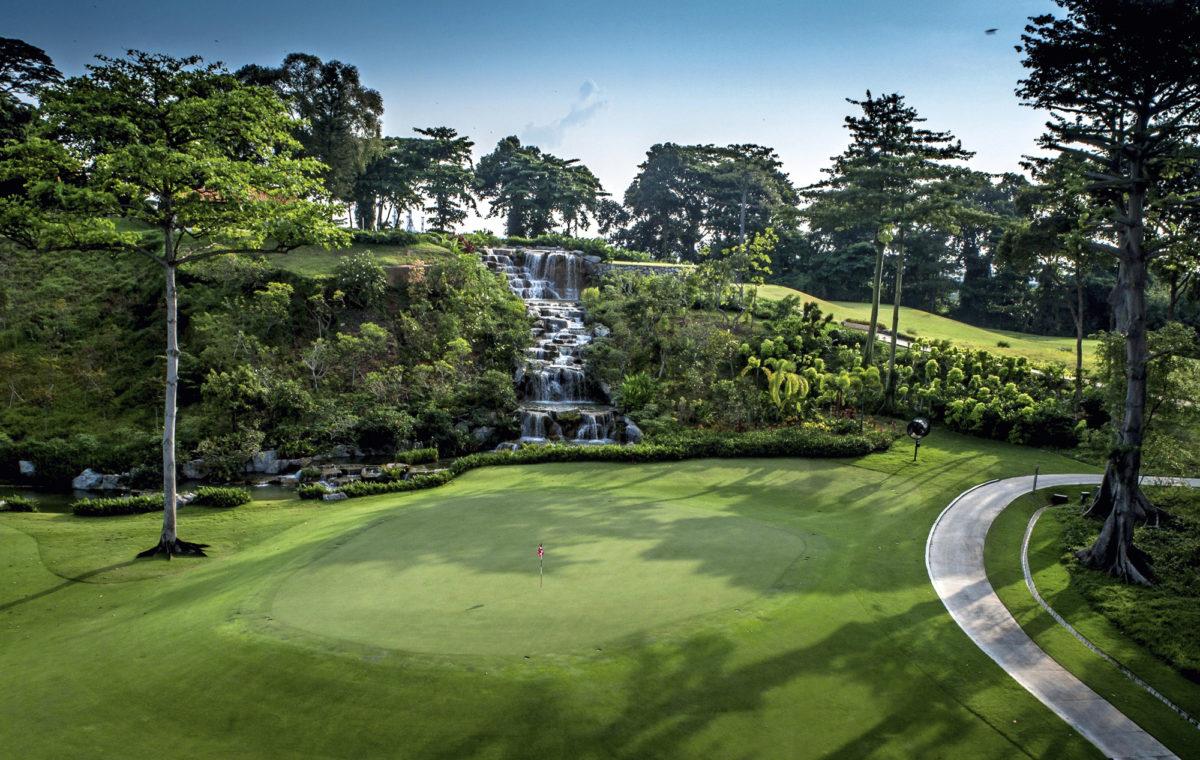 Sentosa Golf Clubin uusi Tanjong-kenttä on rakennettu kestävän kehityksen periaatteiden mukaisesti.