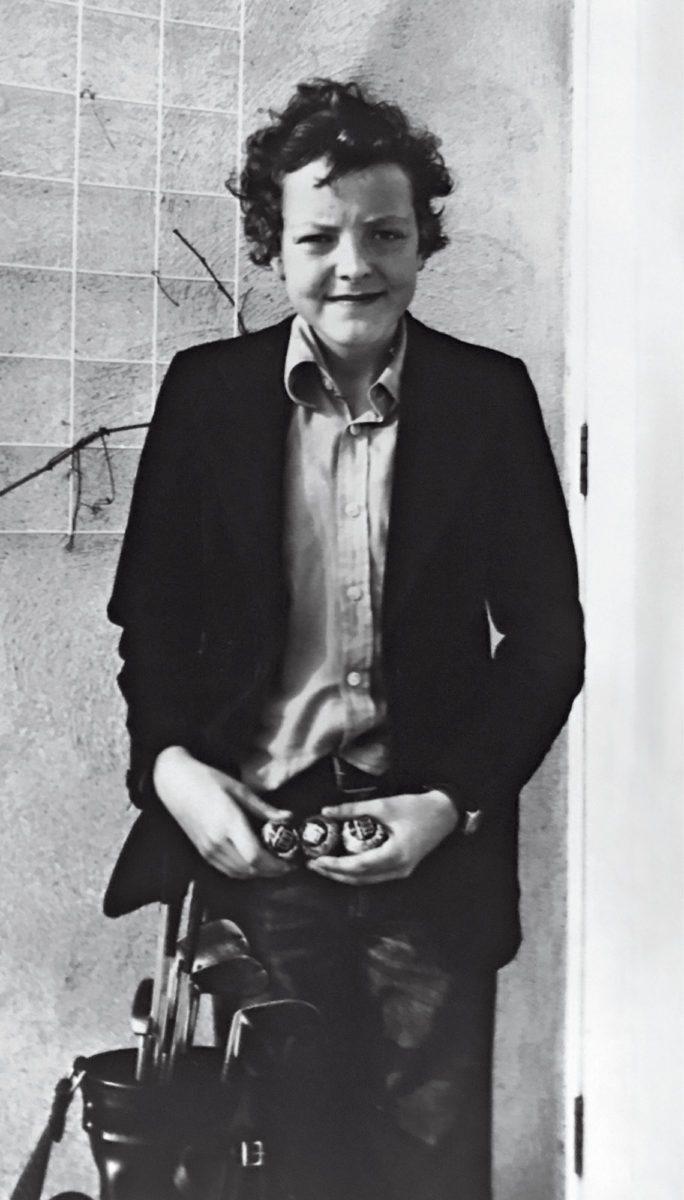 Kirjoittaja 14-vuotiaana, 1978, voitettuaan ensimmäisen juniorikisansa.